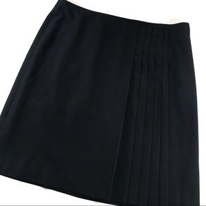 Apostrophe Black Skirt w/ Pleat Details (18)